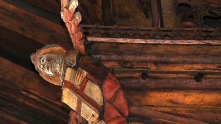 Appeal to save Knapton Church's unique hammer beam angels roof. PHOTO: ANTONY KELLY