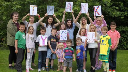 Thank you!: Celebrating £100,000 raised by Michael and Sylvia Porter for the Norfolk Deaf Children's