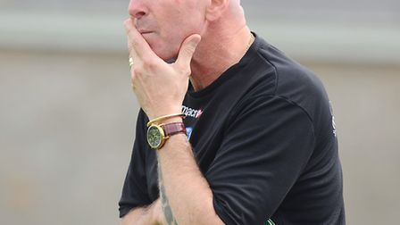 Lowestoft Town joint manager Micky Chapman. Picture: James Bass