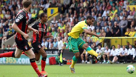 Lewis Grabban has been in prolific form for Norwich City. Picture by Paul Chesterton/Focus Images Lt