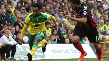 Nathan Redmond is a key man for Norwich City boss Nathan Redmond. Picture by Paul Chesterton/Focus I