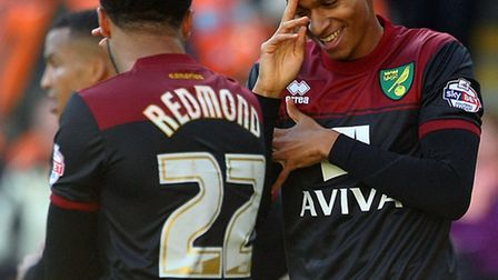 Norwich City duo Josh Murphy and Nathan Redmond have earned England age-group call ups. Picture by P