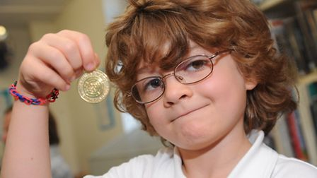 Diss lIbrary celebrate their 50th anniversary and combine it with a medal ceremony for children who