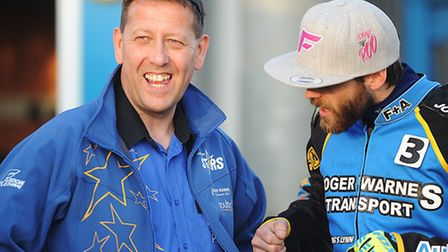 Rob Lyon and (R) Rory Schlein. Picture: Ian Burt