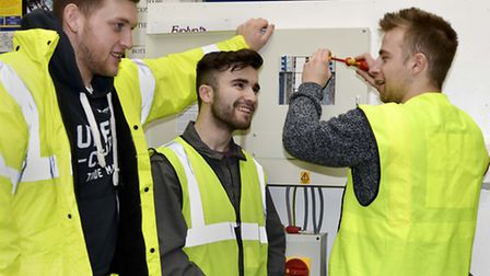JTL electrical apprentices. Picture submitted
