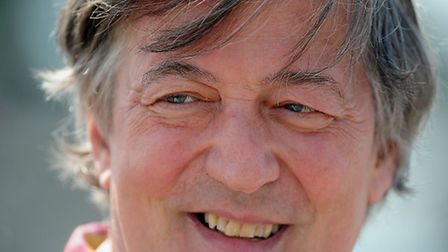 Stephen Fry has donated two autobiography books, the Harry Potter audiobook on CD, and two ties worn