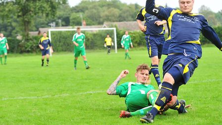 Sunday League action from Norfolk this season.