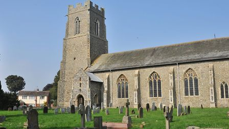 The parish church of St Mary the Virgin, Hemsby.Picture by SIMON FINLAY.
