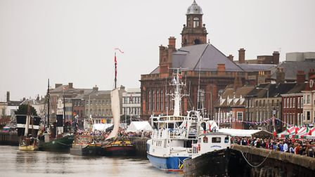 Great Yarmouth during the 2014 Maritime Festival. Picture: James Bass