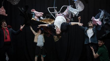Lost In Translation, Seachange's company in residence, among the acts performing at 2014's Out There