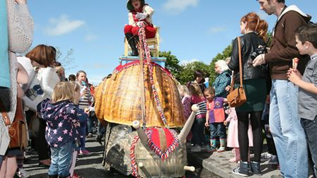 The Insect Circus, among the acts performing at 2014's Out There Festival in Great Yarmouth. Picture