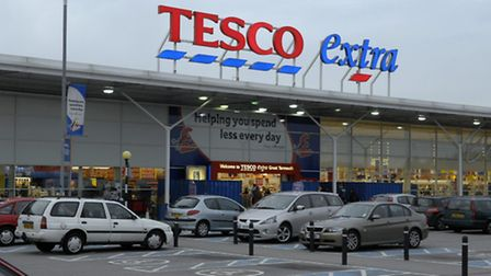 Tesco Extra in Great Yarmouth.