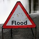 Flash floods have caused problems on Norfolk's roads.