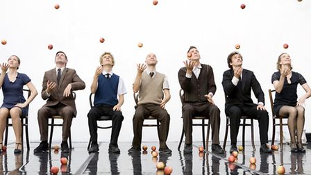 Gandini Juggling, Smashed! Picture: supplied