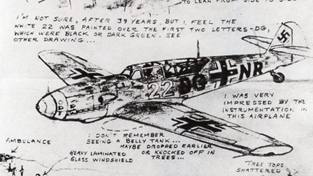 These sketches were produced from memory almost 40 years after Karl Wimberger's flight to England by