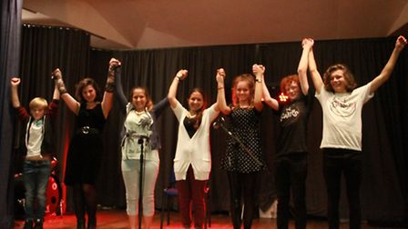 Young talent takes a bow at the Cromer slam night. Picture; SUBMITTED