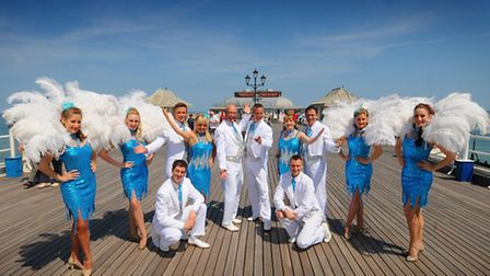 Cromer Pier Summer Show has wooed back the crowds with glamour and glitz. Picture: ANTONY KELLY