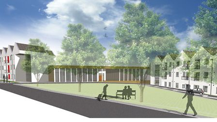 Work has started to build a £19m care village at Three Score in Bowthorpe to help cope with the dem