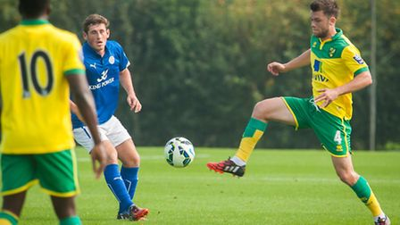 Jonny Howson played just over 60 minutes in Norwich City's 5-0 development league win over Leicester