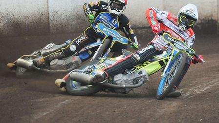 Troy Batchelor and his Swindon team-mates know their way around the Norfolk Arena. Picture: IAN BURT