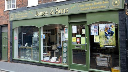 James and Sons auctioneers in Fakenham. Picture: ANTONY KELLY