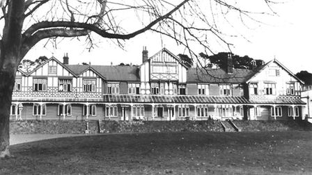 Mundesley Hospital. Date: Jan 1957. Picture: EDP Library