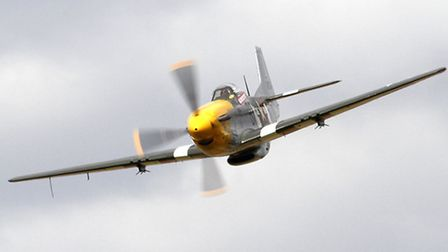 Planes at the Old Buckenham Airshow. Picture: John Allan