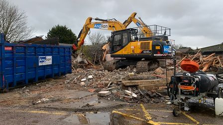 Demolition of the Herondale Respite Care Centre in Acle has taken place, allowing 58 affordable homes for 0ver 55s with...
