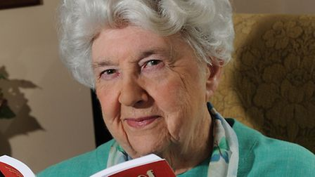 North Walsham author Dorothy Saltwell Kimmings, 87.Picture: ANTONY KELLY