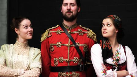 ARMS AND THE MAN by George Bernard Shaw is at the Maddermarket Theatre from September 25 to October