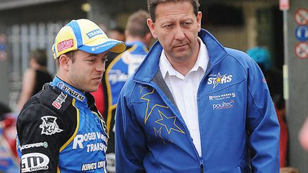 Kenneth Bjerre and Rob Lyon. Picture: Ian Burt