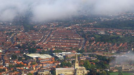 Norwich from the air