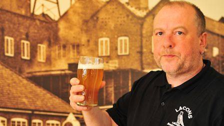 Head brewer Wil Wood. Picture: Nick Butcher