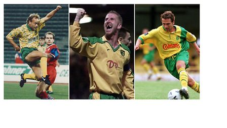 Compete against Carrow Road legends Jeremy Goss, Iwan Roberts and Darren Eadie in Norwich City Win,