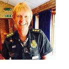 Pete Simpson, who works for the East of England Ambulance Service Trust, who has gone out to Sierra