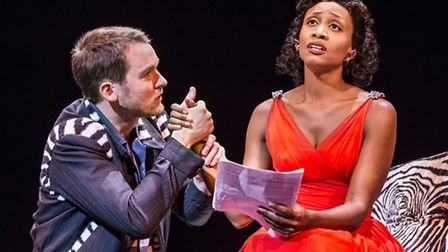 Memphis the Musical Killian Donnelly and Beverly Knight. Picture; JOHAN PERSSON