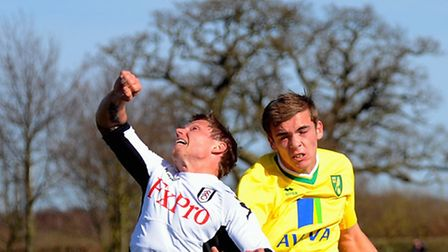 Norwich City defender Harry Toffolo made his Football League debut at loan club Swindon Town on Satu