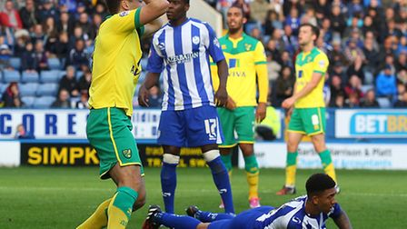 Russell Martin rues the one that got away in the 0-0 Championship draw at Sheffield Wednesday. Pictu