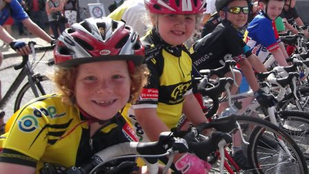 Youngsters can learn the skill of cycle racing at the Pedal Revolution Race School in Yarmouth
