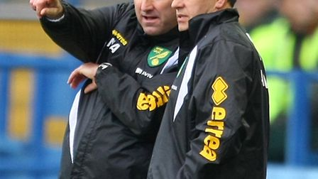 Norwich manager Neil Adams knows what lies in store against Neil Lennon's Bolton. Picture by Paul Ch