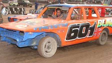 PICTURE: Norwich''s Chris Meddler is expected to be in the middle of the action in the Bangers at th