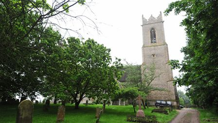 Filby church which has been put on the at risk register.
