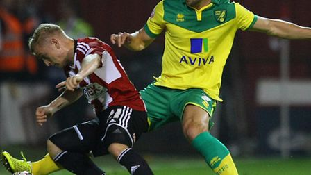 Steven Whittaker accepts the pressure is on Norwich City's squad. Picture by Paul Chesterton/Focus I