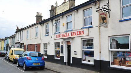 The Eagle Tavern in Tonning Street, Lowestoft.