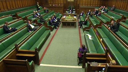 The Debating Chamber in the House of Commons, PA Wire
