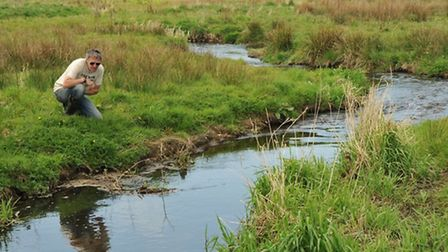 John Bailey on the remodelled Glaven. Can it host sea trout in the future?