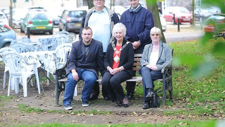Rats are causing problems down by the River and near a cafe In Thetford.Cllr Terry jermy, Cllr Denis