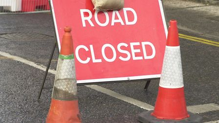 Roads will be closed