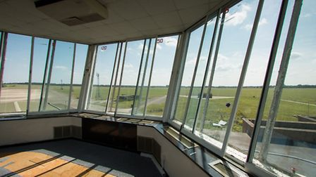 The control tower at the former RAF Coltishall airbase, which is proving to be a big hit with film-m