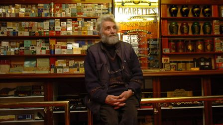 Chris Nunn among the museum's tobacco display. Picture: ARCHANT LIBRARY